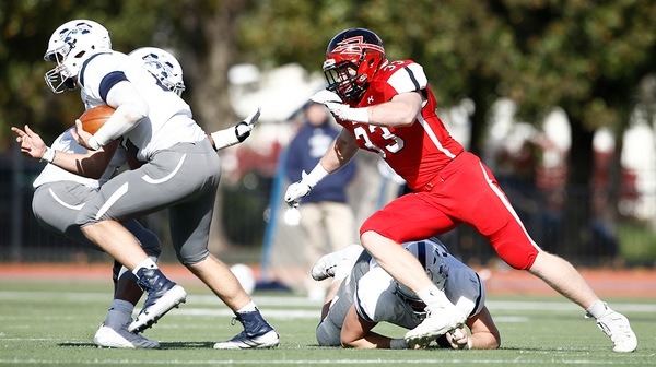 Football Falls to Ursinus