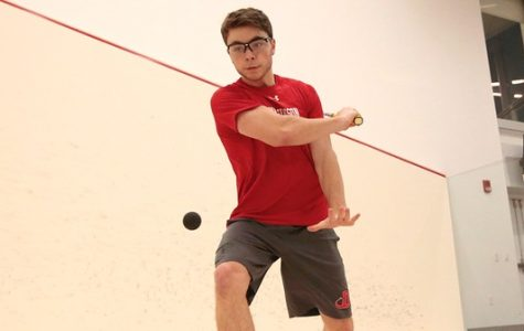 Men's Squash Wins Three