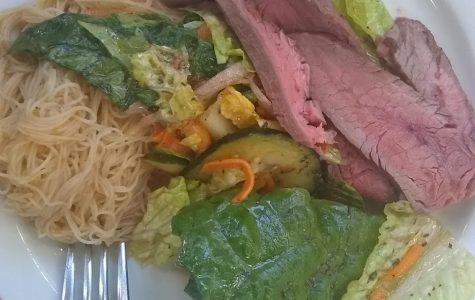 Caf Review:  Vietnamese Flank Steak Salad