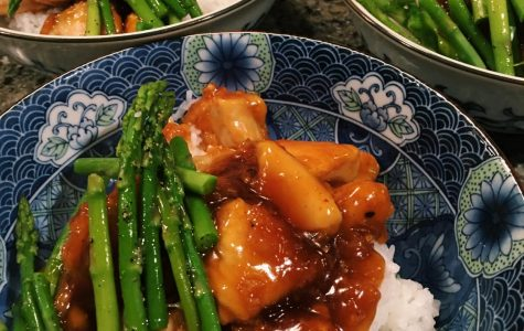 Straight from the Plate:  Healthy General Tso's Chicken