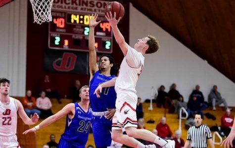Men's Basketball Falls to Franklin & Marshall, Swarthmore