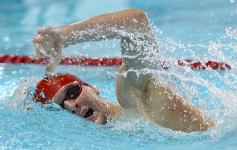 Men's Swimming Ends  Dual Meet Season