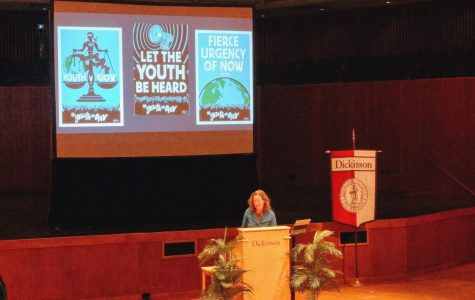 """""""Let the Youth be Heard"""" Rose-Walters Prize Winner Urges Young Voices in Environmental Activism"""