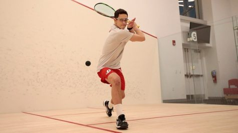 Men's Squash Wins Three