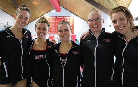 Women's Swimming Continues Hot Streak Against Franklin & Marshall
