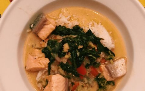 Straight from the Plate: Coconut-Miso Salmon Curry