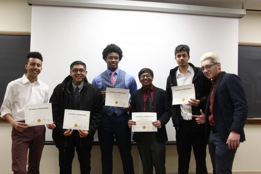 MANdatory Graduates Class of Six Men of Color