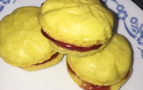 Batter Up: Lemon Macarons with Raspberry Filling