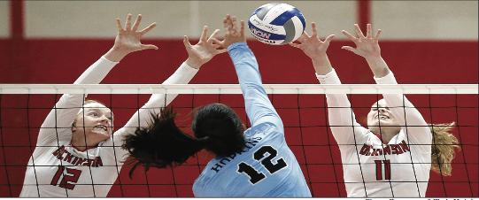 Volleyball Goes 2-1 on Weekend Tournament