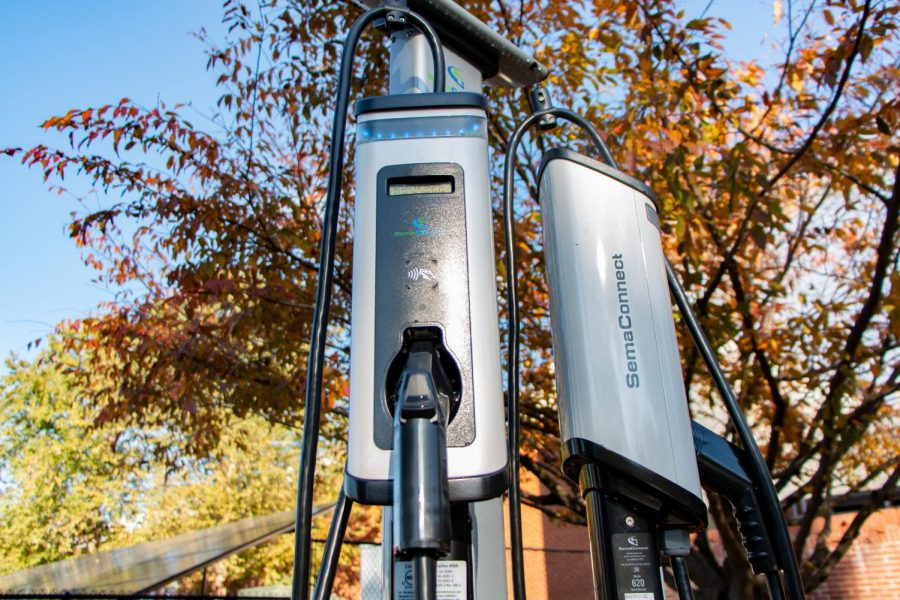 College Installs EV Chargers