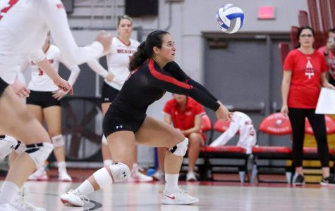Volleyball Fallts to Muhlenberg, De Sales