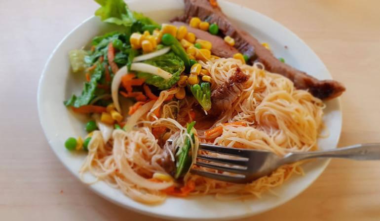 Caf+Review%3A+Vietnamese+Flank+Steak