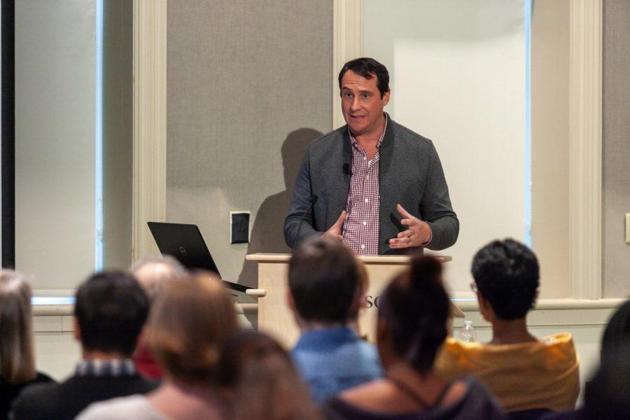 From Dickinson to Hollywood: John Orlando's 2020 Cogan Talk