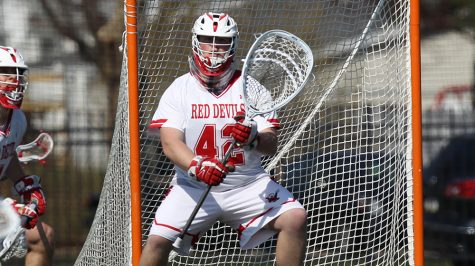 Men's Lacrosse Tops Stevens