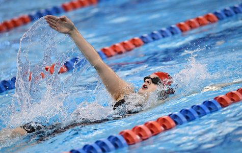 Men and Women's Swimming  Comes in Fourth at Centennial Conference Championships
