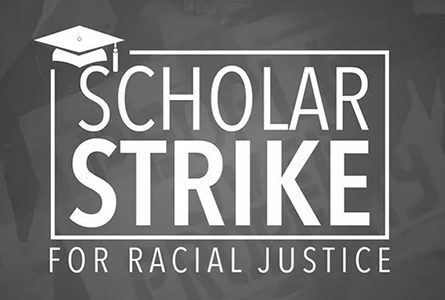 Students and Faculty Participate in Nationwide Scholar Strike