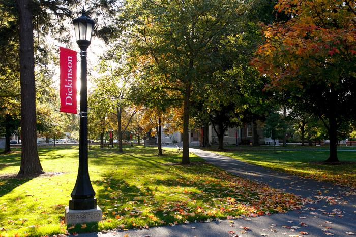 Dickinson's academic quad. Photo courtesy of the Dickinson College website.
