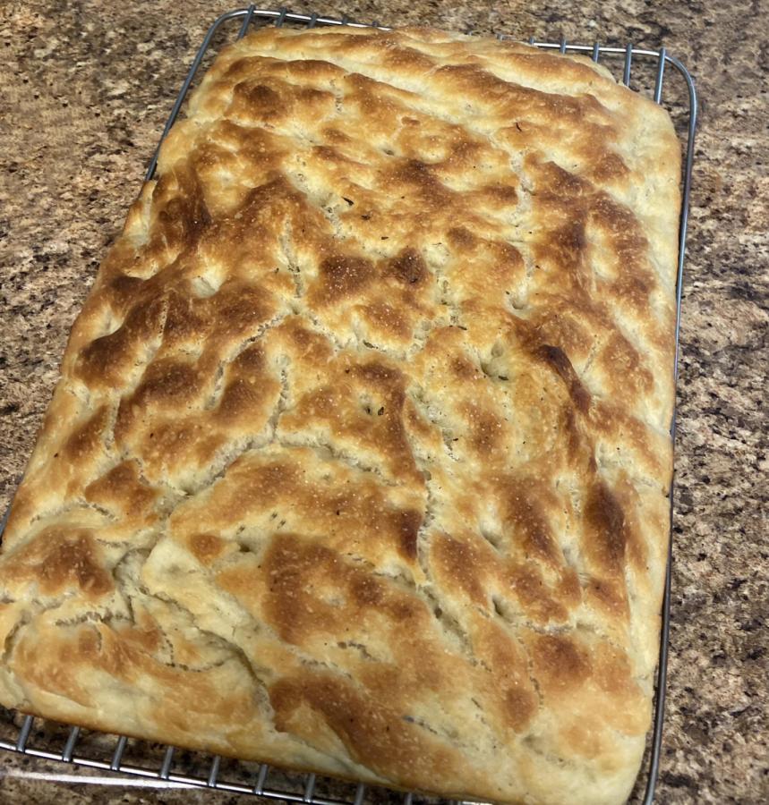Simple, No-Knead Focaccia Bread