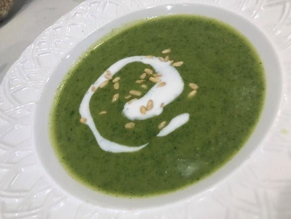 Thai Broccoli Soup. Photo courtesy of Tessa Busby '24.