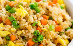 Fried rice. Image courtesy of Jessica Gavin.