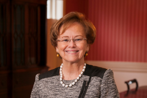 Photo of President Margee Ensign. Courtesy of hechingerreport.org