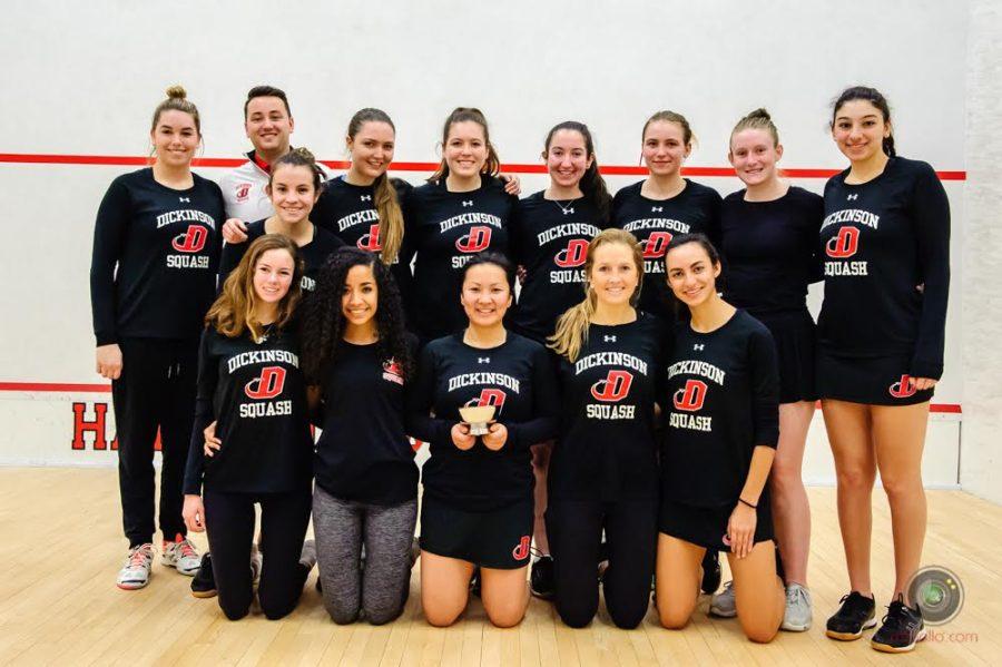 Women's Squash Launches Title IX Challenge